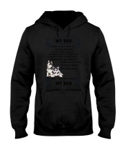 Siberian Husky My Dad 0506 Hooded Sweatshirt thumbnail
