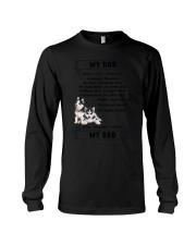 Siberian Husky My Dad 0506 Long Sleeve Tee thumbnail