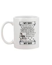 Siberian Husky My Dad 0506 Mug back