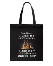 German Shepherd Mother Come Out 1206 Tote Bag thumbnail