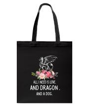 Dragon And Dog 2304 Tote Bag thumbnail
