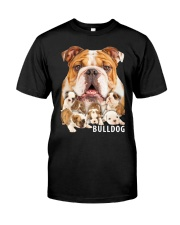 Bulldog Awesome Classic T-Shirt front