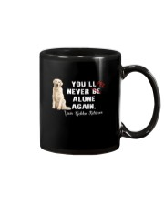 Golden Retriever Never Be Alone 1306 Mug thumbnail