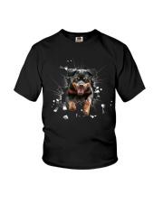 Rottweiler Break Youth T-Shirt thumbnail