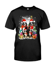 Bernese Mountain Dog Family Christmas  Classic T-Shirt thumbnail