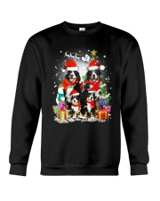 Bernese Mountain Dog Family Christmas  Crewneck Sweatshirt thumbnail