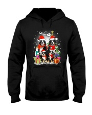 Bernese Mountain Dog Family Christmas  Hooded Sweatshirt front
