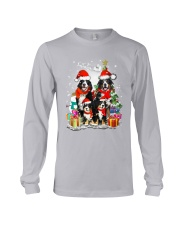 Bernese Mountain Dog Family Christmas  Long Sleeve Tee thumbnail