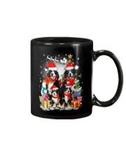 Bernese Mountain Dog Family Christmas  Mug thumbnail