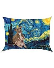 American Staffordshire Terrier Star 2604 Rectangular Pillowcase front