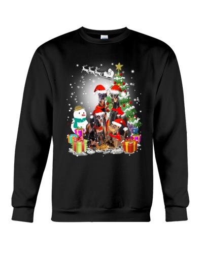 Doberman Pinscher Christmas - 2909 - A6