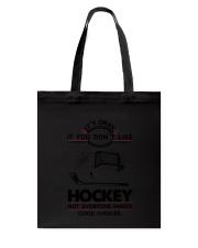 Hockey Good Choices 2504 Tote Bag thumbnail