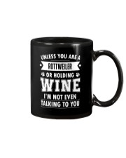 Rottweiler Holding 2504 Mug thumbnail