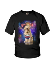 Golden Retriever Independence 0606 Youth T-Shirt thumbnail