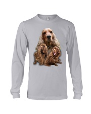 Sussex Spaniel Awesome Long Sleeve Tee thumbnail