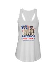 Alaskan Malamute 4th7 0706 Ladies Flowy Tank thumbnail