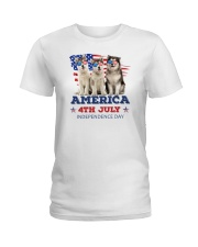 Alaskan Malamute 4th7 0706 Ladies T-Shirt thumbnail