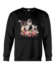 GAEA Siberian Husky Mom 1204 Crewneck Sweatshirt thumbnail