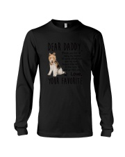 Wire Fox Terrier Daddy Favorite 2105 Long Sleeve Tee thumbnail