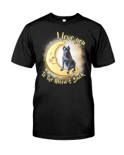 Cane Corso Love Moon Classic T-Shirt front
