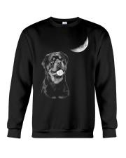 Rottweiler Moon Crewneck Sweatshirt thumbnail
