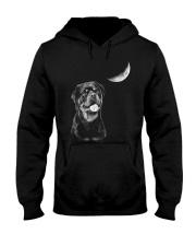 Rottweiler Moon Hooded Sweatshirt thumbnail