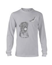 Rottweiler Moon Long Sleeve Tee thumbnail