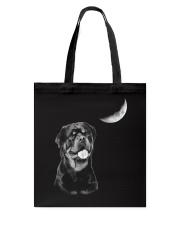 Rottweiler Moon Tote Bag thumbnail