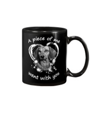 Dachshund My Piece Mug thumbnail