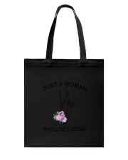 Skiing Love Woman 2104 Tote Bag thumbnail