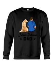 Golden Retriever Dad 1505 Crewneck Sweatshirt thumbnail