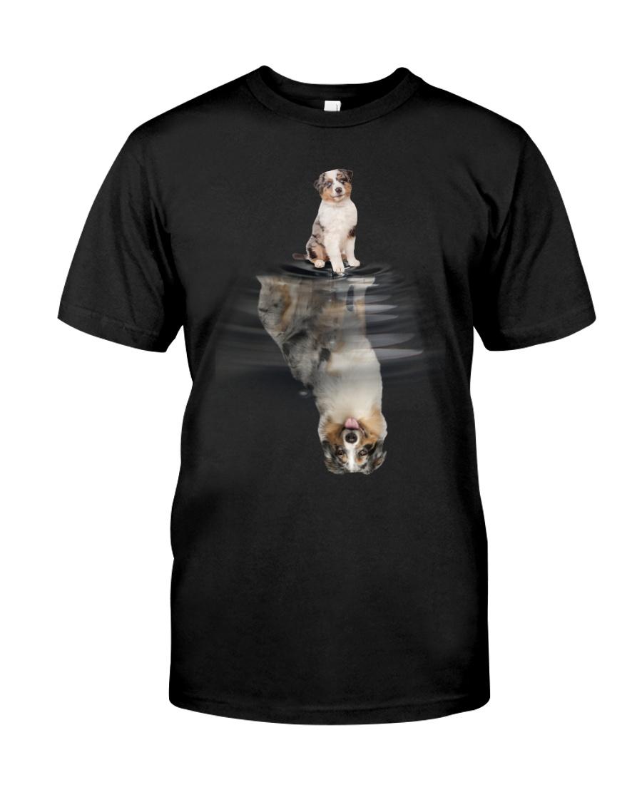 Australian Shepherd In Dream Classic T-Shirt