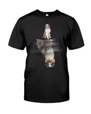 Australian Shepherd In Dream Classic T-Shirt front