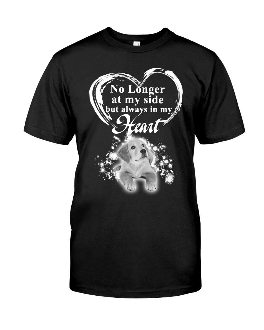 Golden Retriever In My Heart Classic T-Shirt
