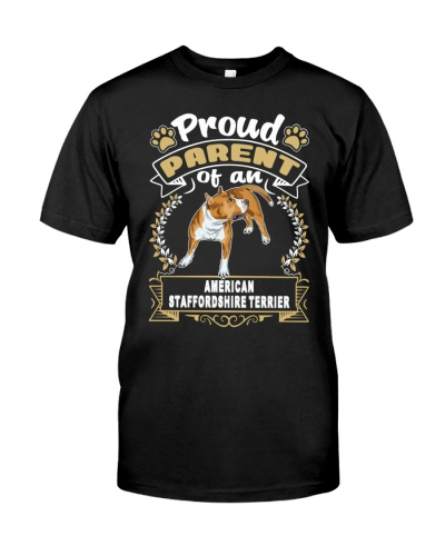 American Staffordshire Terrier Proud