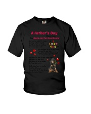 Black and Tan Coonhound Poem 0606 Youth T-Shirt thumbnail