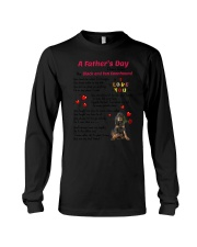Black and Tan Coonhound Poem 0606 Long Sleeve Tee thumbnail