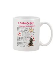 Black and Tan Coonhound Poem 0606 Mug front