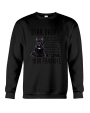 Scottish Terrier Daddy Favorite 2105 Crewneck Sweatshirt thumbnail