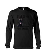 Scottish Terrier Daddy Favorite 2105 Long Sleeve Tee thumbnail