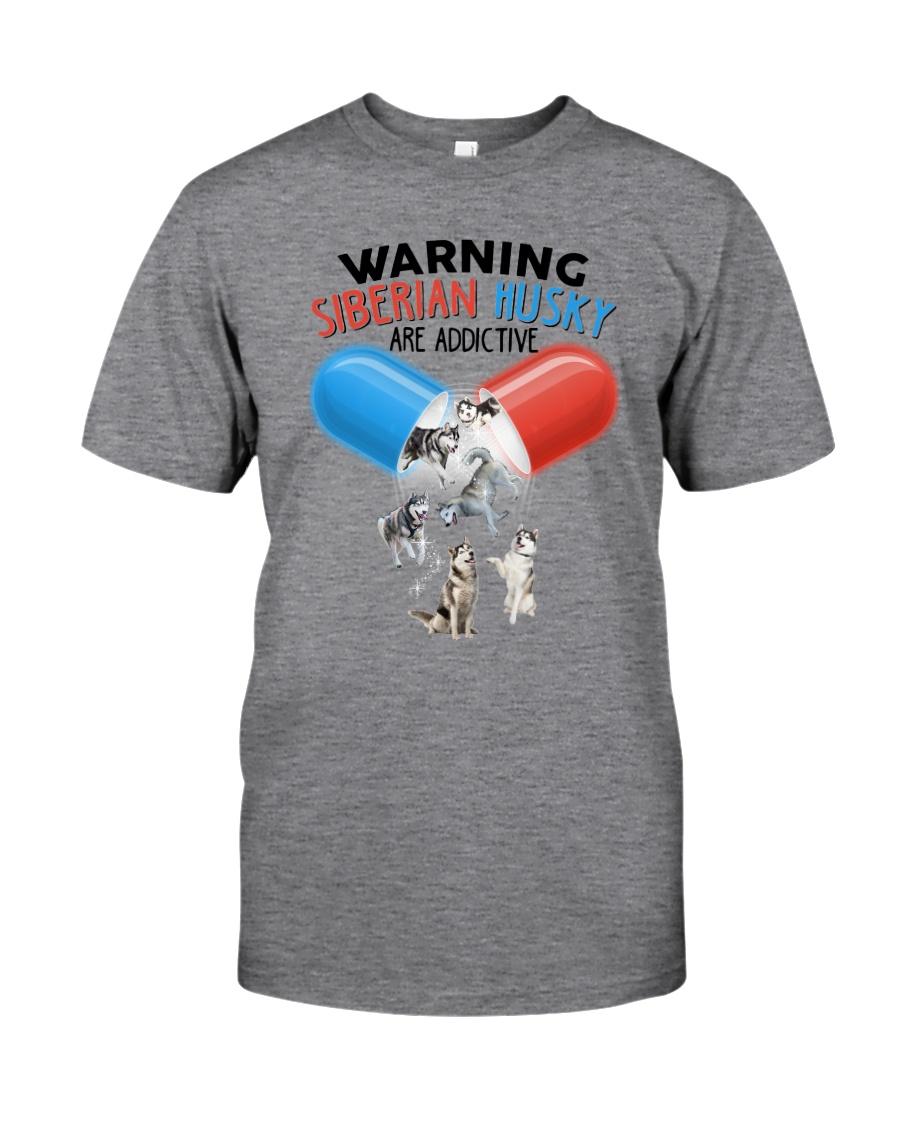 GAEA - Siberian Husky Addictive 1804 Classic T-Shirt