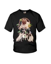 GAEA - Pug Beauty 3003  Youth T-Shirt thumbnail