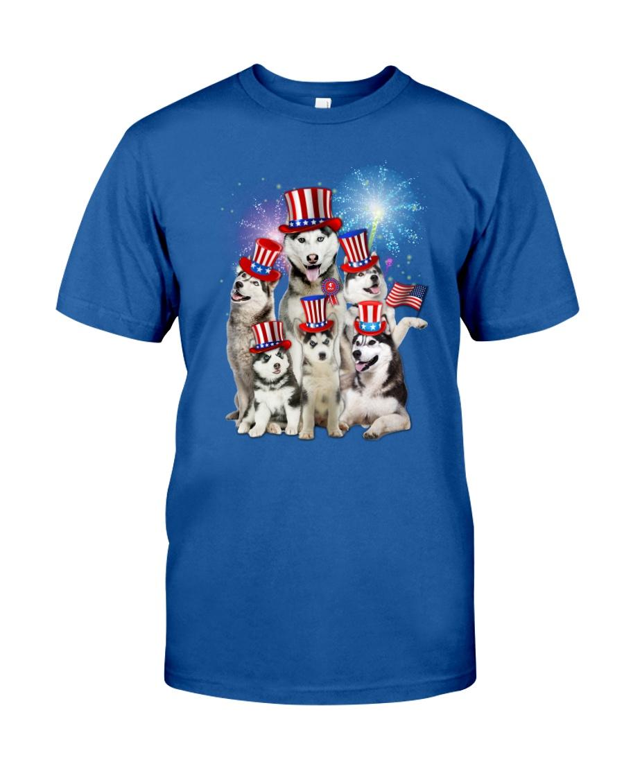 Siberian Husky USA 2505 Classic T-Shirt