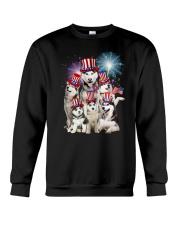 Siberian Husky USA 2505 Crewneck Sweatshirt thumbnail