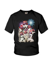 Siberian Husky USA 2505 Youth T-Shirt thumbnail