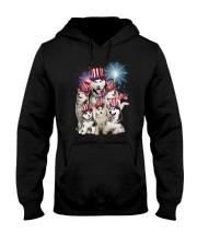 Siberian Husky USA 2505 Hooded Sweatshirt thumbnail