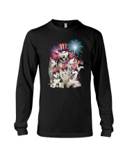 Siberian Husky USA 2505 Long Sleeve Tee thumbnail