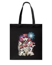 Siberian Husky USA 2505 Tote Bag thumbnail