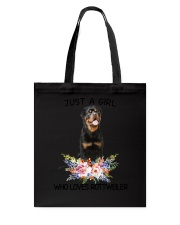 Rottweiler Loves Girl 0204 Tote Bag thumbnail