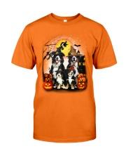 ZEUS - Bernese Mountain Dog Halloween - A98 Classic T-Shirt front